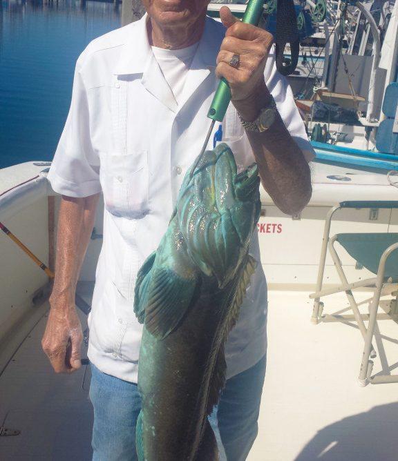 Fishing Guayabera shirt. Can you name this fish?