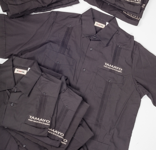 Embroidered Guayaberas