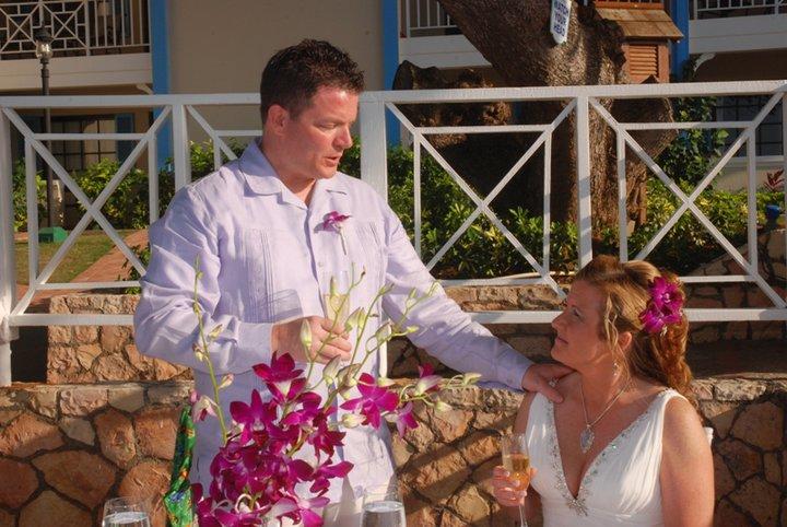 A Destination wedding in Jamaica