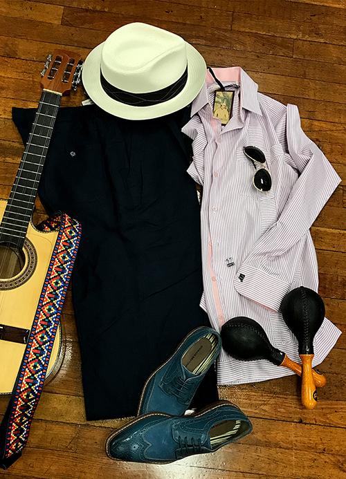 Men's Havana theme party outfit Idea.