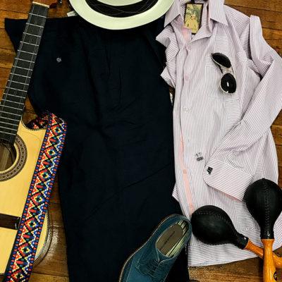 Havana theme party attire for men